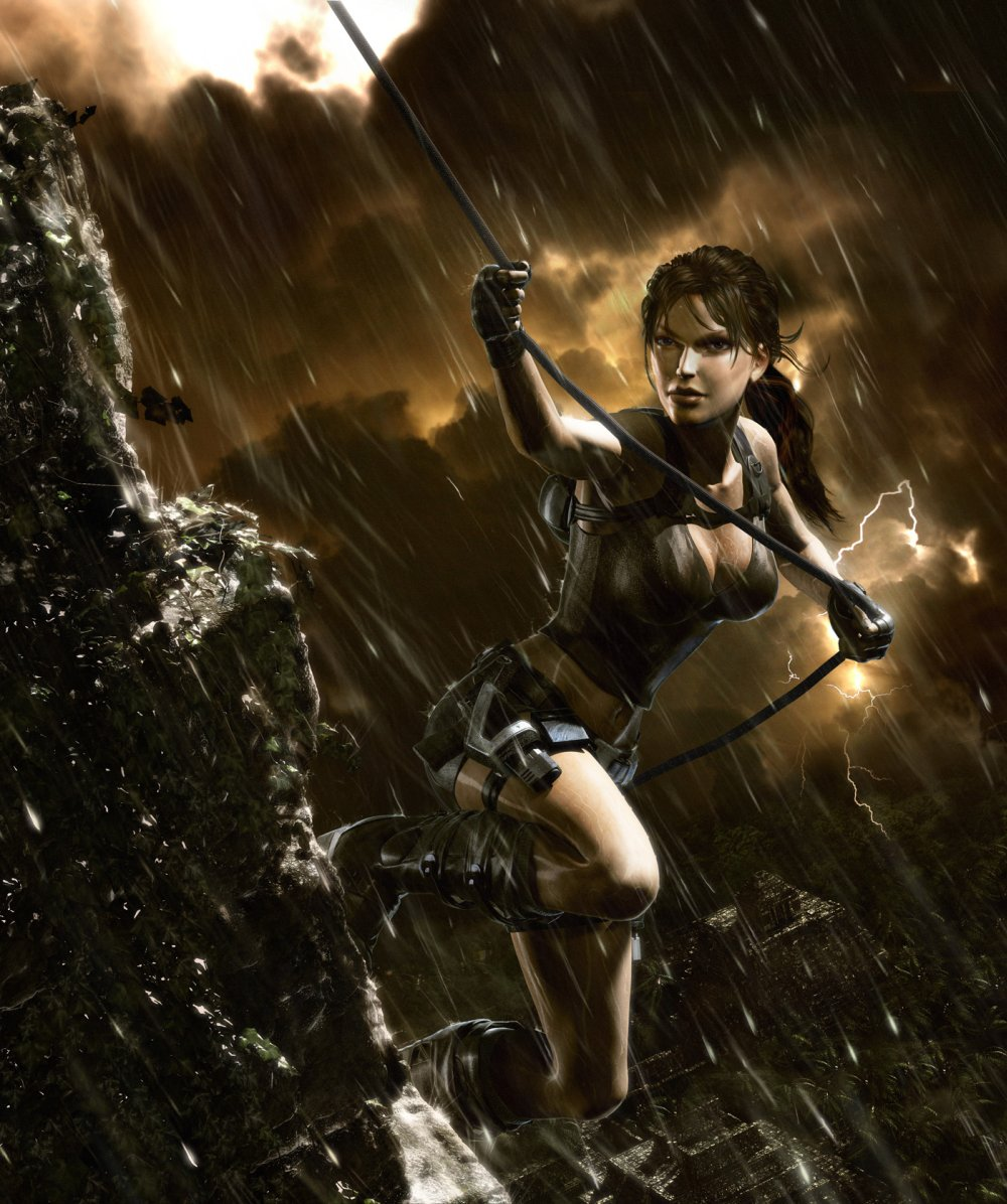 Tomb Raider Legend, Tomb Raider Anniversary e Tomb Raider Underworld